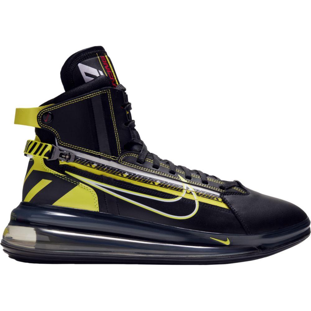 ナイキ Nike メンズ バスケットボール エアマックス 720 シューズ・靴【Air Max 720 SATRN】Black/Dynamic Yellow/University Red
