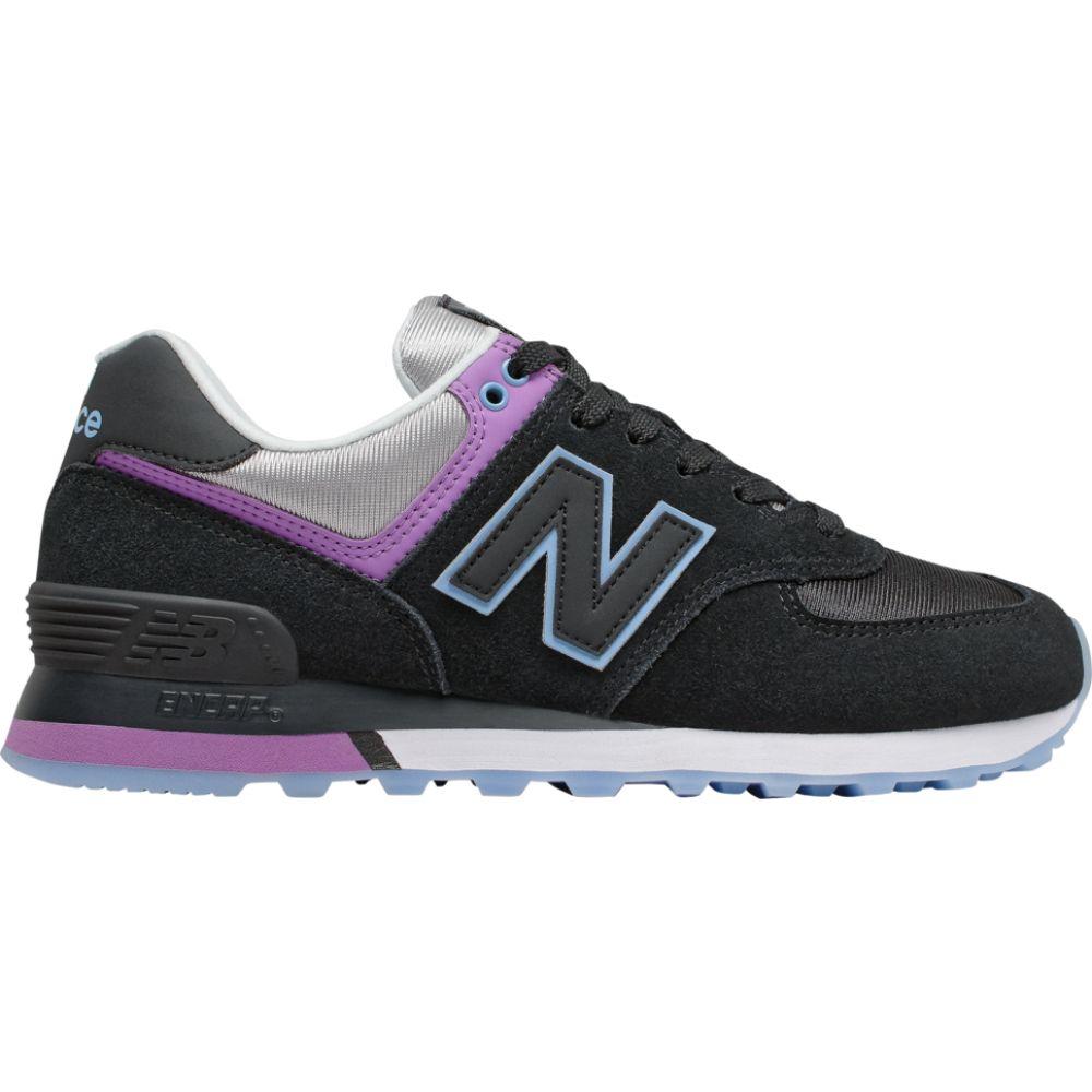 ニューバランス New Balance レディース スニーカー シューズ・靴【574 Classic】Black/Team Carolina