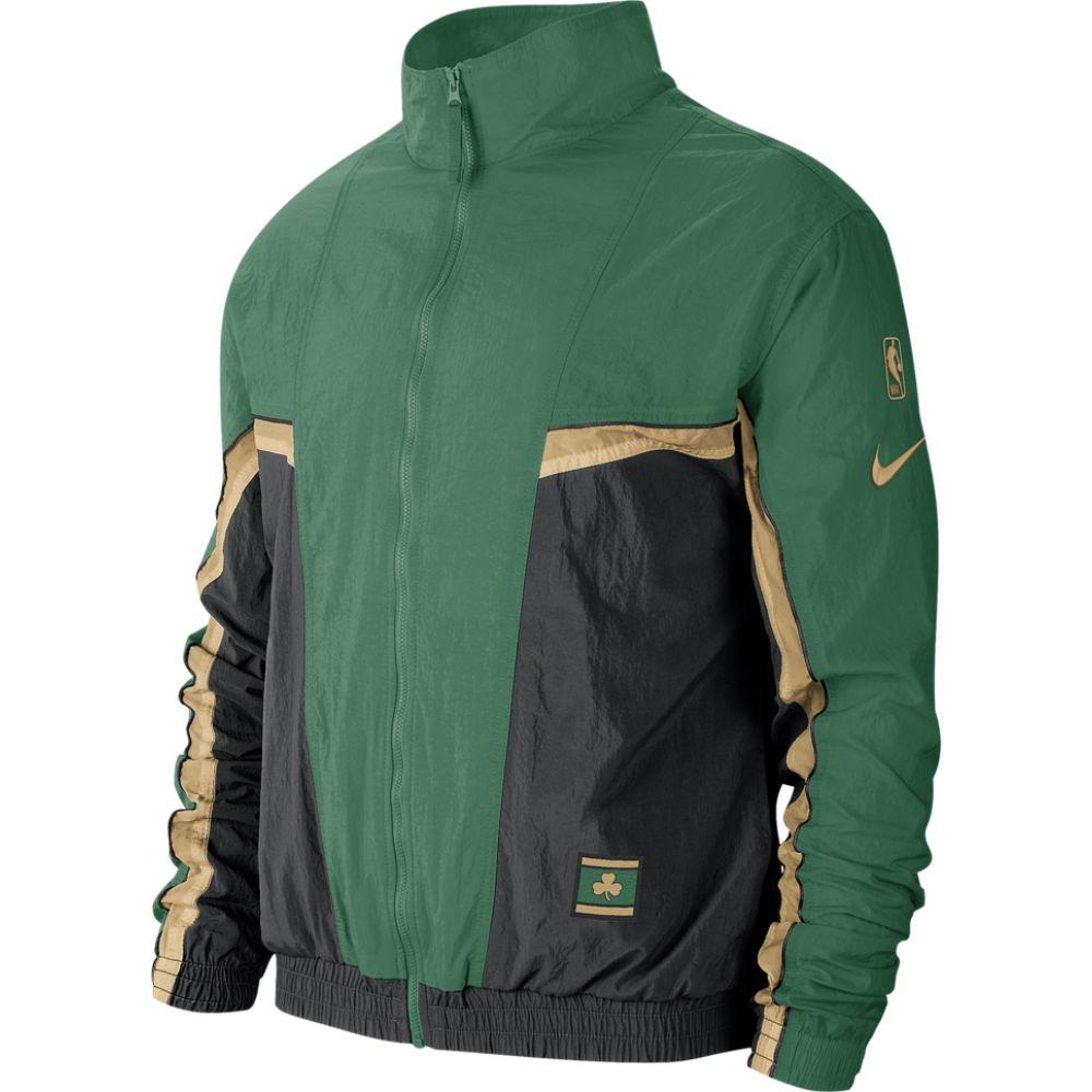 ナイキ Nike メンズ ジャージ アウター【nba city edition courtside track jacket】NBA Boston Celtics Black/Clover
