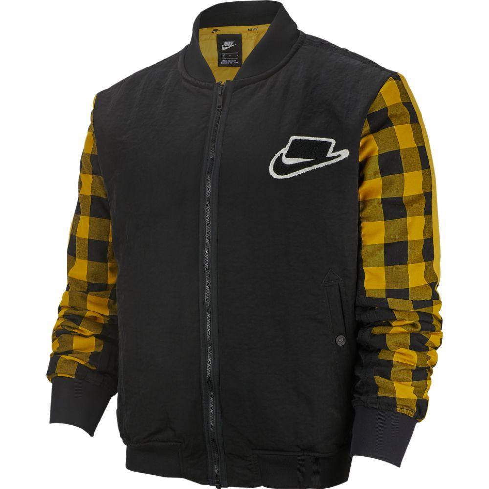 ナイキ Nike メンズ ブルゾン ミリタリージャケット アウター【bomber fill jacket】Black/Dark Sulfur