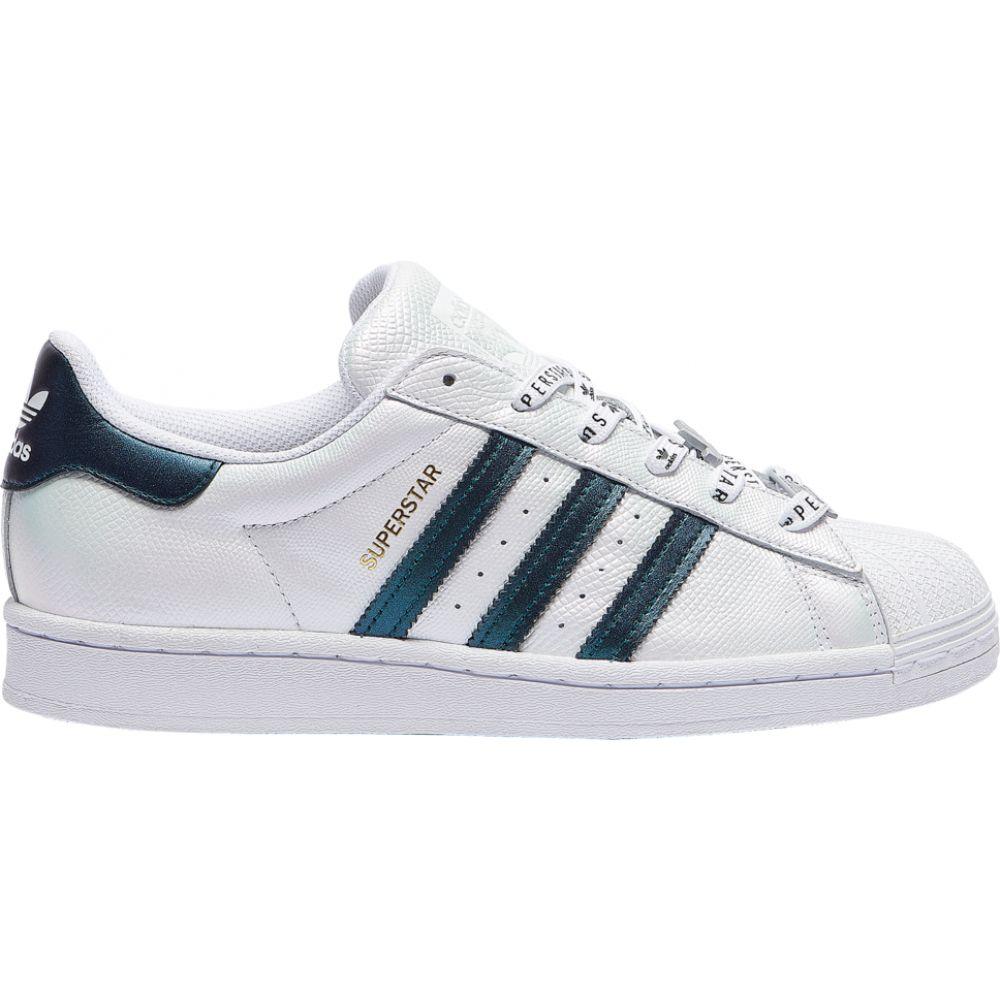 アディダス adidas Originals レディース バスケットボール シューズ・靴【superstar】White/Black/Gold Metallic Iridescent
