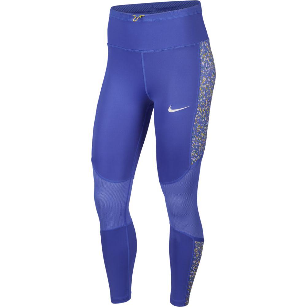 ナイキ Nike レディース フィットネス・トレーニング スパッツ・レギンス ボトムス・パンツ【icon clash 7/8 fast tights】Sapphire/Sapphire