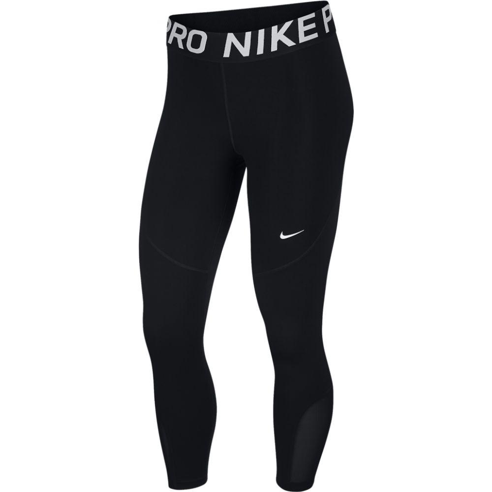 ナイキ Nike レディース フィットネス・トレーニング スパッツ・レギンス ボトムス・パンツ【pro crop tights】Black/White