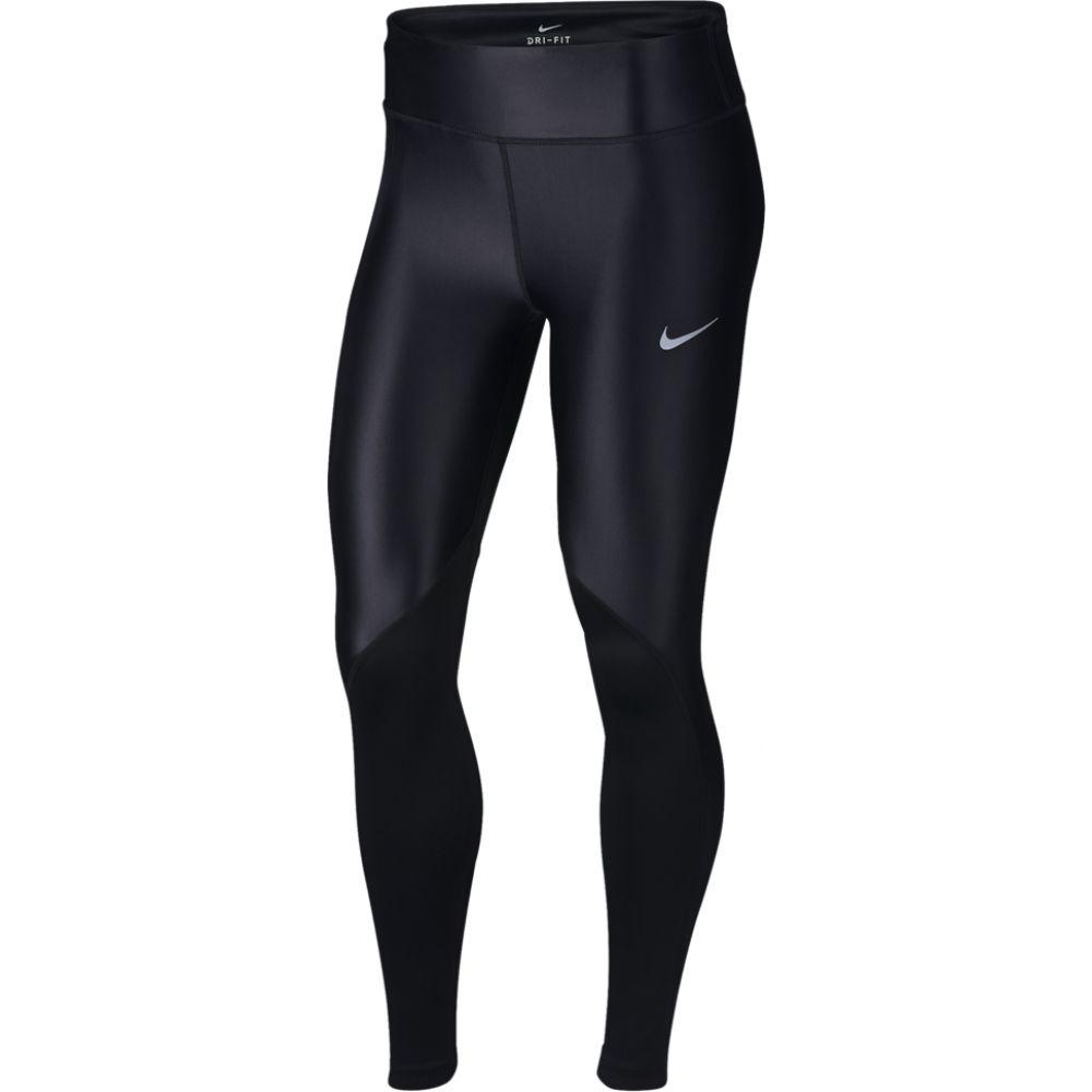 ナイキ Nike レディース フィットネス・トレーニング スパッツ・レギンス ボトムス・パンツ【fast tights】Black Reflective Silver