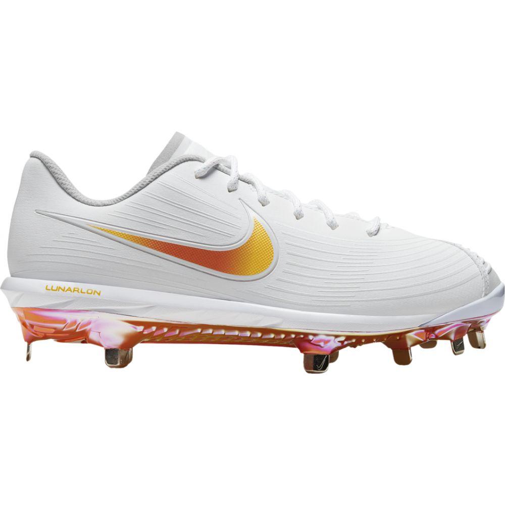 ナイキ Nike レディース 野球 シューズ・靴【lunar hyperdiamond 3 pro】White/Magma Orange/Laser Orange