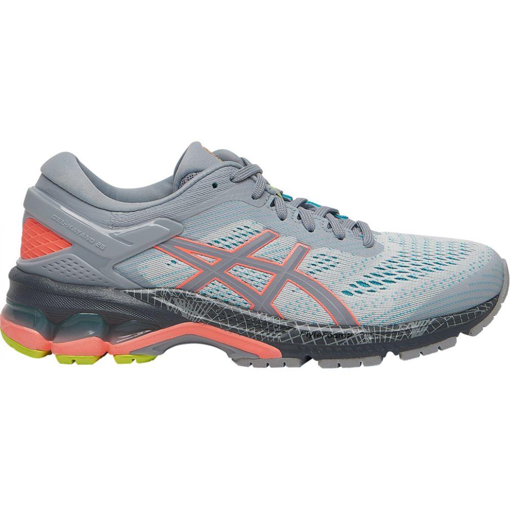 アシックス ASICS レディース ランニング・ウォーキング シューズ・靴【gel-kayano 26 lite show】Piedmont Grey/Coral