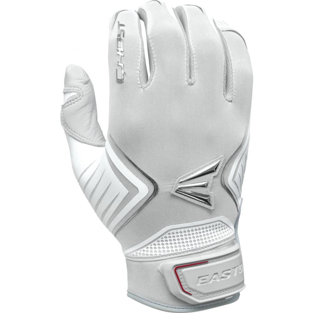 イーストン Easton レディース 野球 バッティンググローブ グローブ【ghost fastpitch batting gloves】White/White
