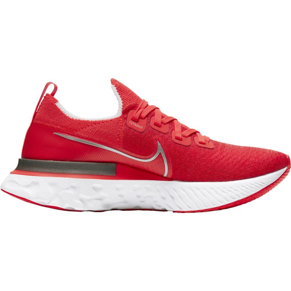 ナイキ Nike レディース ランニング・ウォーキング シューズ・靴【react infinity run flyknit】Bright Crimson/Metallic Silver/White