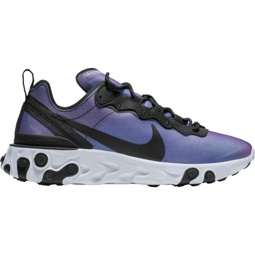 ナイキ Nike レディース ランニング・ウォーキング シューズ・靴【react element 55 premium】Black/Black/Active Pink World Cup