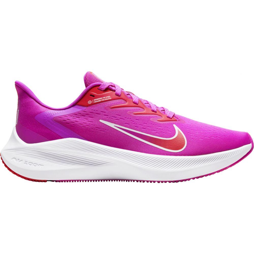 ナイキ Nike レディース ランニング・ウォーキング シューズ・靴【zoom winflo 7】Fire Pink/Summit White/Ember Glow