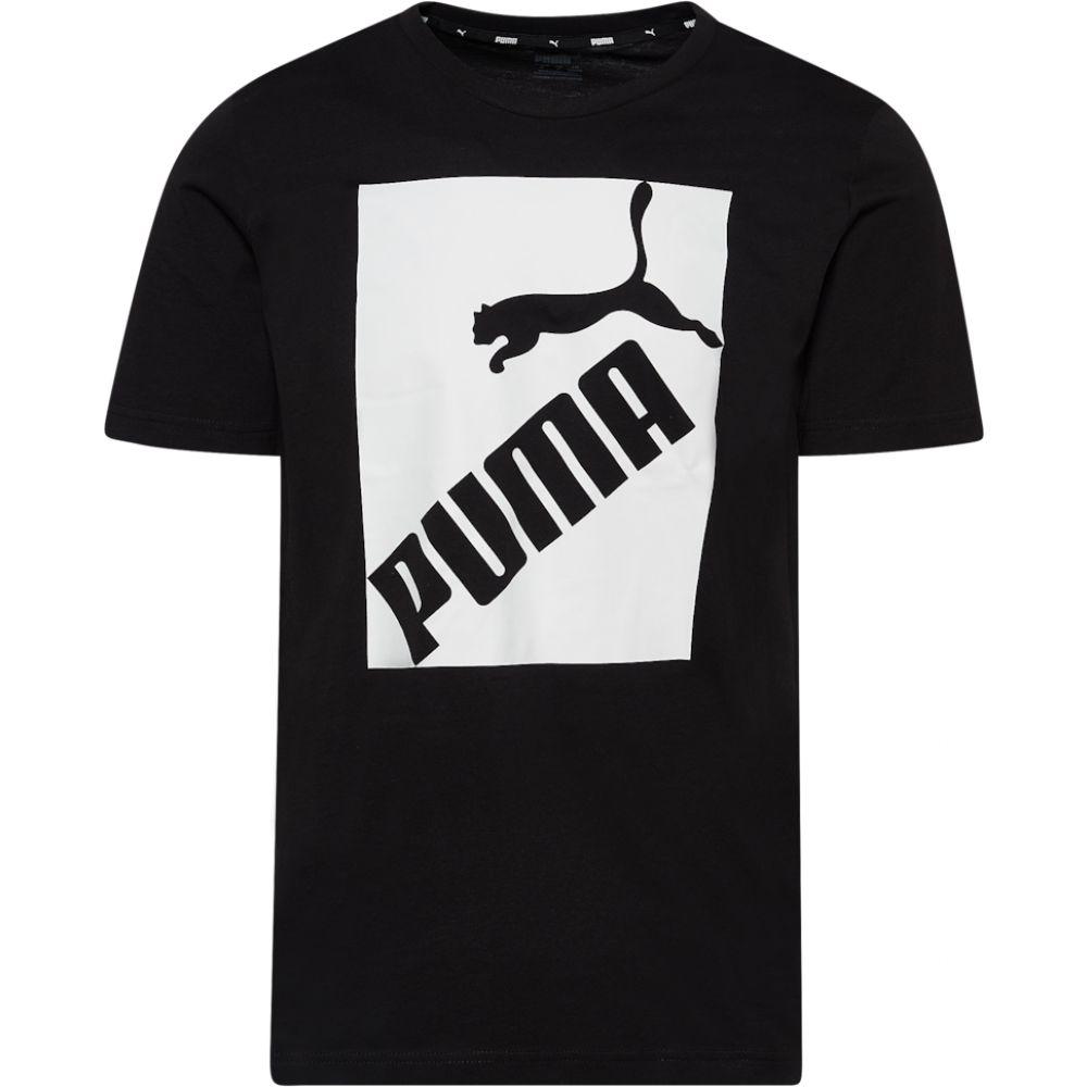 プーマ PUMA メンズ Tシャツ トップス【big logo t-shirt】Puma Black