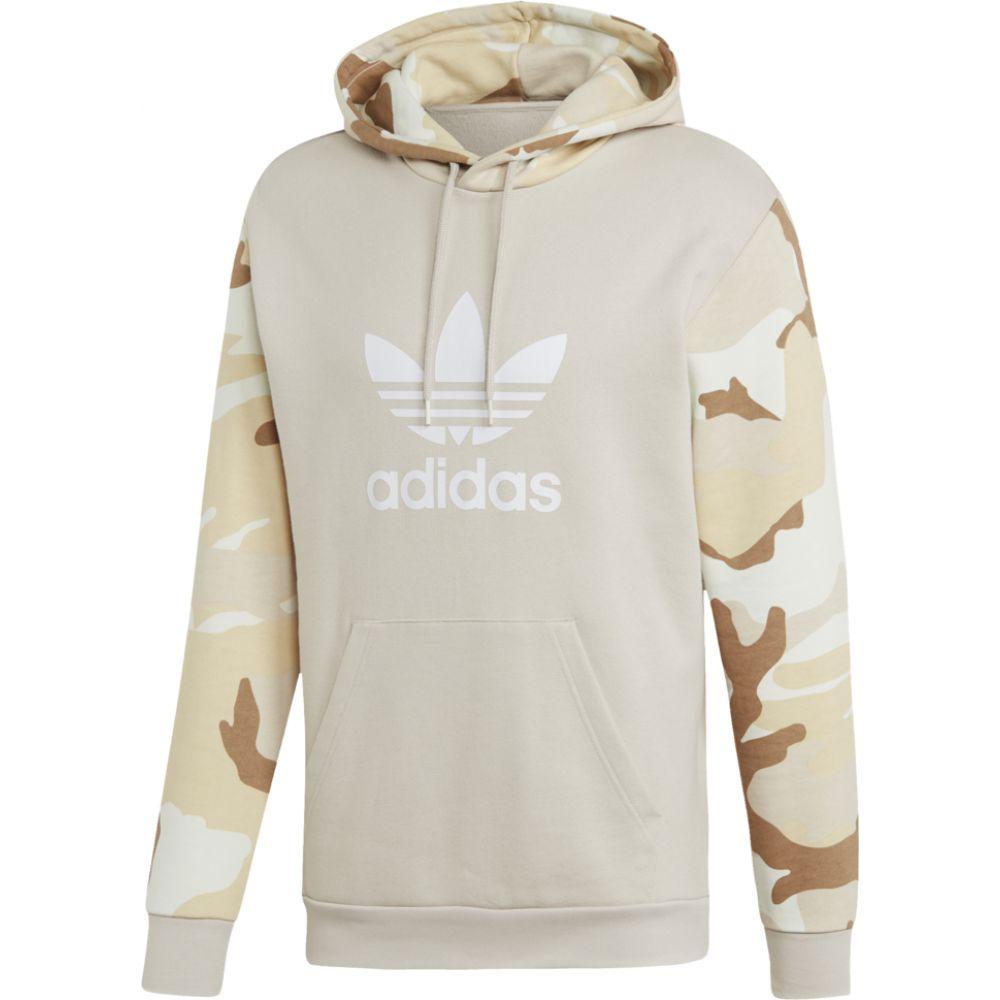 アディダス adidas Originals メンズ パーカー トップス【camo pullover hoodie】Clear Brown
