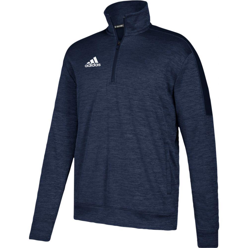 アディダス adidas メンズ フリース トップス【team issue fleece 1/4 zip】Collegiate Navy/White