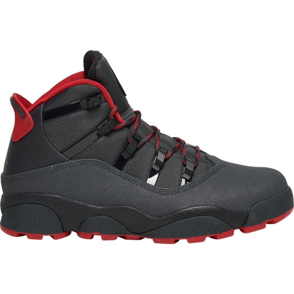 ナイキ ジョーダン Jordan メンズ バスケットボール シューズ・靴【6 rings winterized】Anthracite/Black/Gym Red
