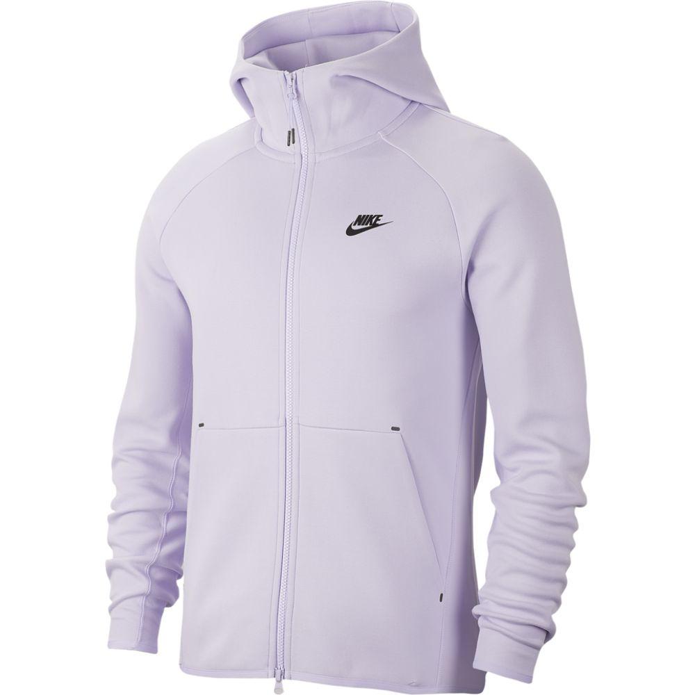 ナイキ Nike メンズ パーカー トップス【tech fleece full-zip hoodie】Lavender Mist/Black