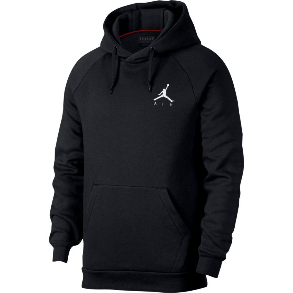 ナイキ ジョーダン Jordan メンズ バスケットボール ジャンプマン パーカー トップス【jumpman air fleece pullover hoodie】Black/White