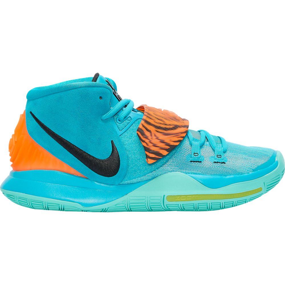 ナイキ Nike メンズ バスケットボール シューズ・靴【kyrie 6】Kyrie Irving Oracle Aqua/Black/Opti Yellow/Total Orange