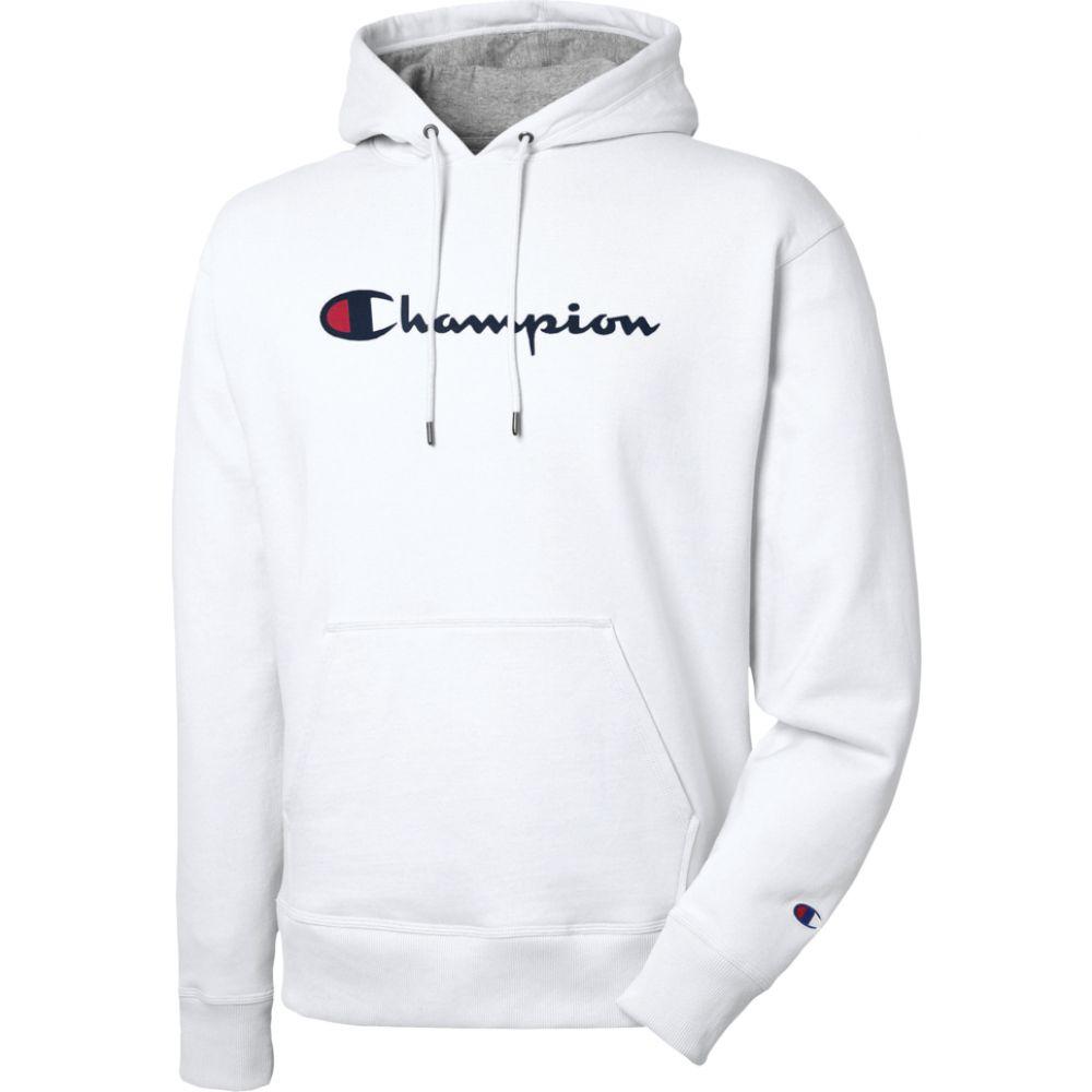 チャンピオン Champion メンズ パーカー トップス【powerblend p/o hoodie】White