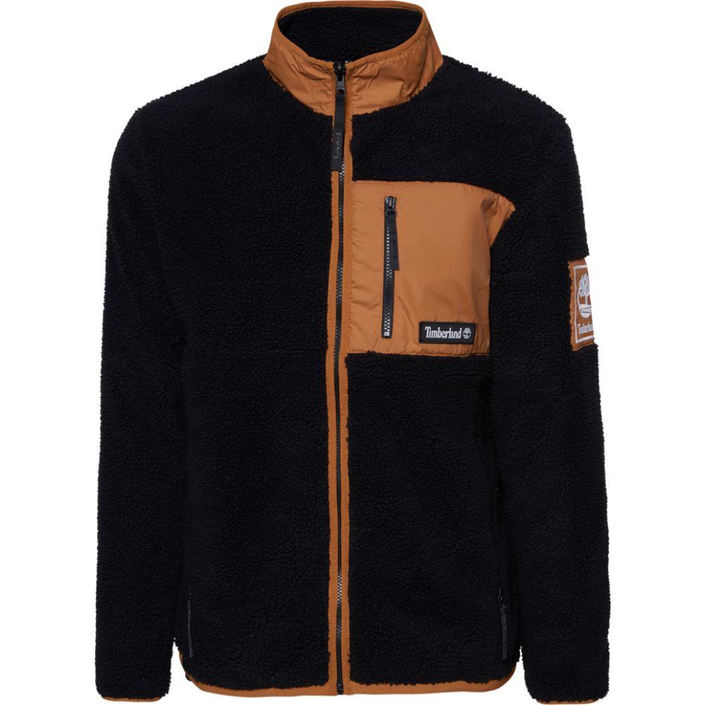 ティンバーランド Timberland メンズ フリース トップス【archive sherpa fleece jacket】Black/Wheat Boot