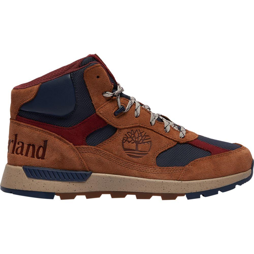 ティンバーランド Timberland メンズ ハイキング・登山 シューズ・靴【field trekker mid】Medium Brown Suede / ReBOTL