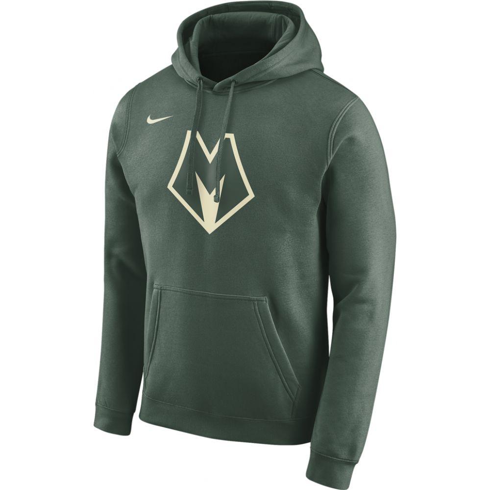 ナイキ Nike メンズ パーカー トップス【nba city edition hoodie】NBA Milwaukee Bucks Fir