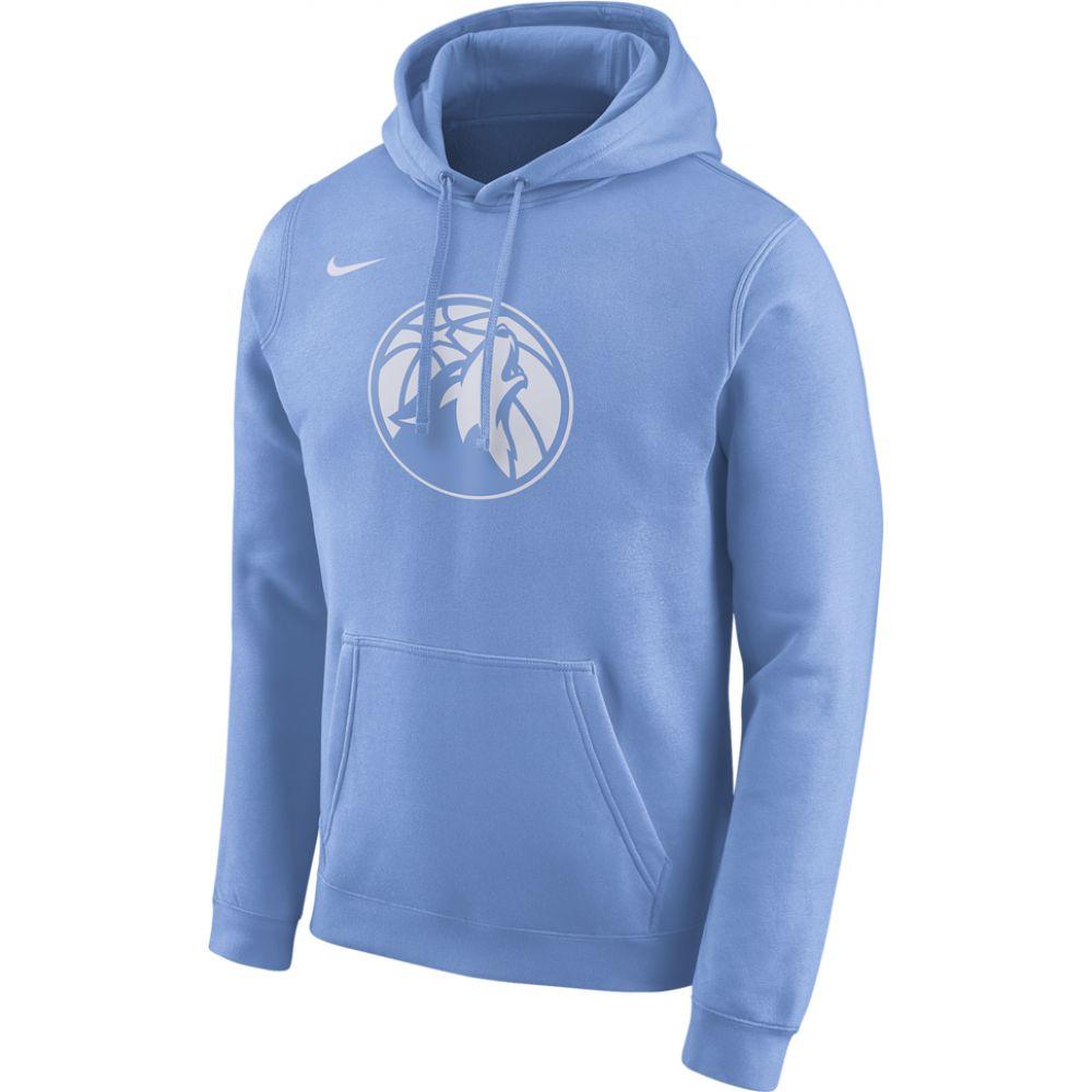 ナイキ Nike メンズ パーカー トップス【nba city edition hoodie】NBA Minnesota Timberwolves Valor Blue