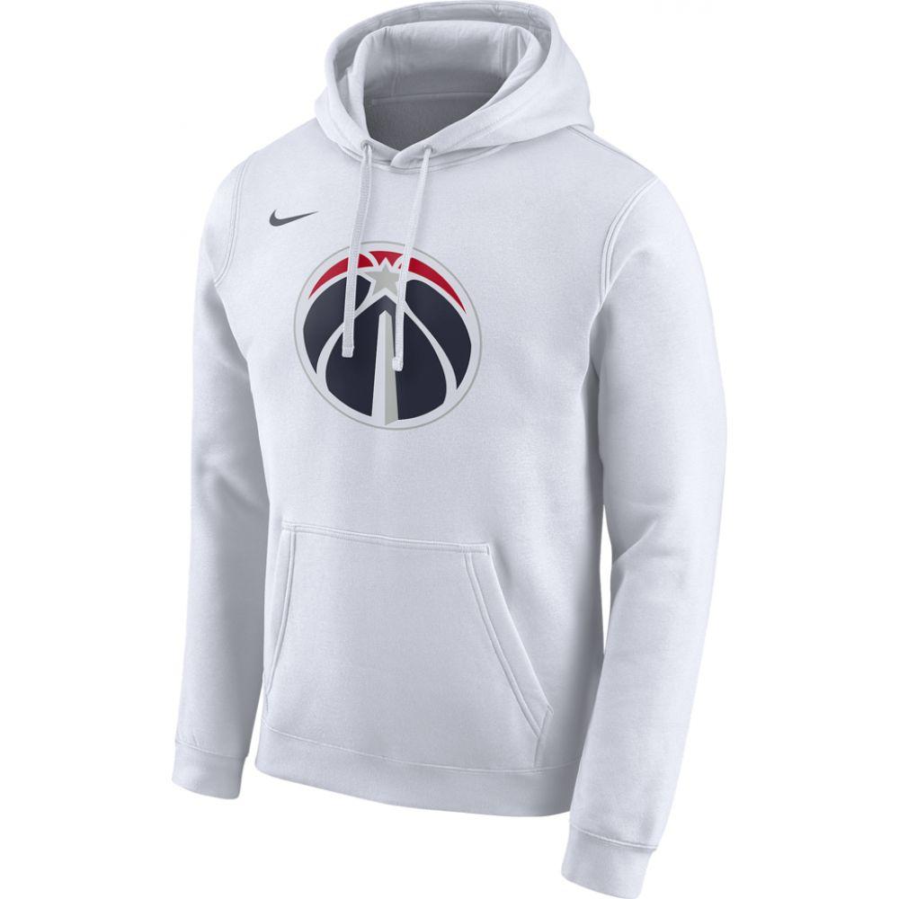 ナイキ Nike メンズ パーカー トップス【nba city edition hoodie】NBA Washington Wizards White