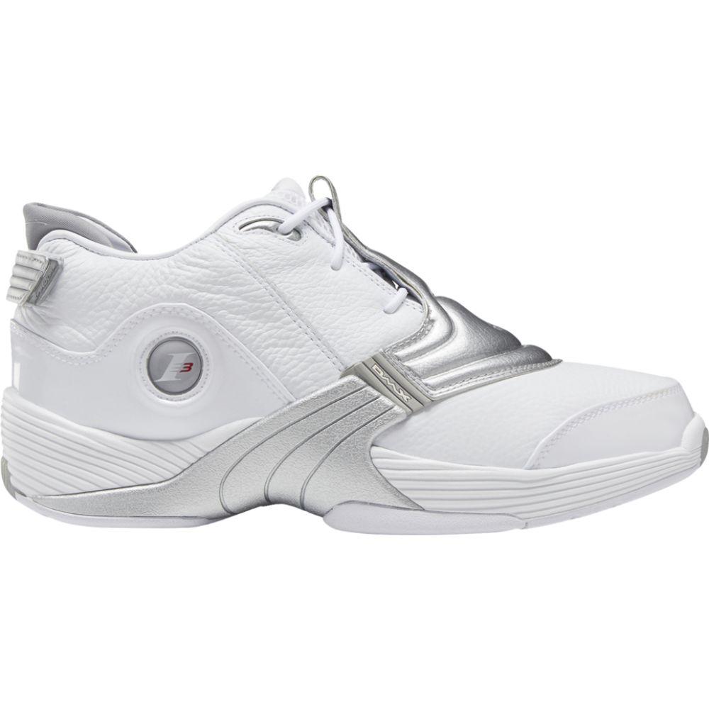 リーボック Reebok メンズ バスケットボール シューズ・靴【answer v】White/Metallic Silver