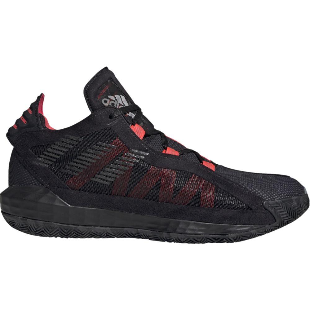 アディダス adidas メンズ バスケットボール シューズ・靴【dame 6】Damian Lillard Black/Trace Grey/Shock Red