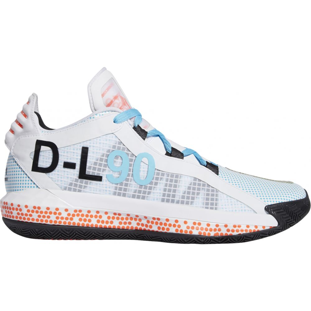 アディダス adidas メンズ バスケットボール シューズ・靴【dame 6】Damian Lillard White/Black/Red