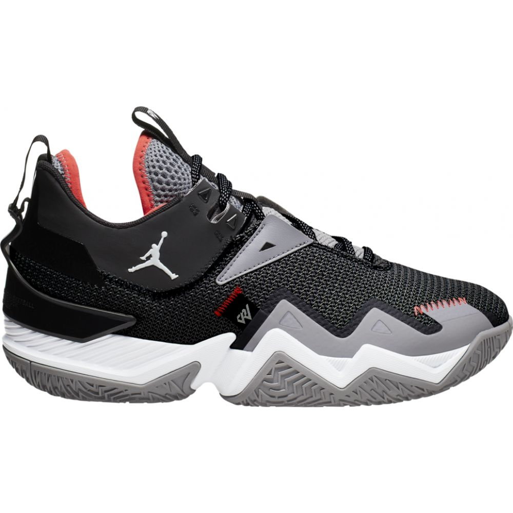 ナイキ ジョーダン Jordan メンズ バスケットボール シューズ・靴【one take】Black/White/Cement Grey/Bright Crimson