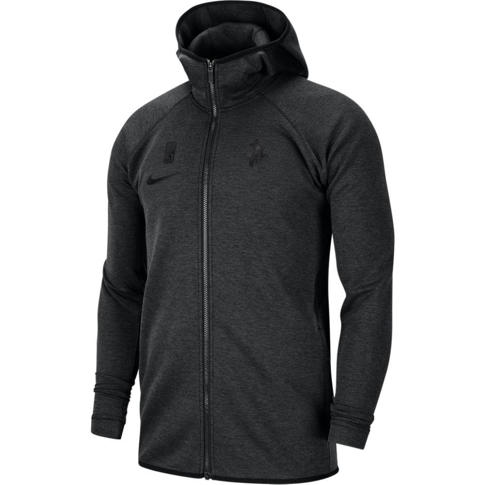ナイキ Nike メンズ パーカー トップス【nba player showtime fz hoodie】NBA Houston Rockets Black Heather/Black