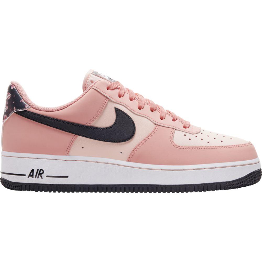 ナイキ Nike メンズ バスケットボール エアフォースワン シューズ・靴【air force 1 low】White/Black/Pink Quartz/Galactic Jade