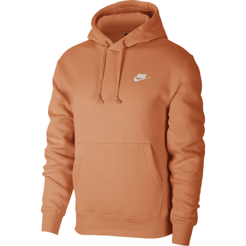 ナイキ Nike メンズ パーカー トップス【club pullover hoodie】Orange Trance/White