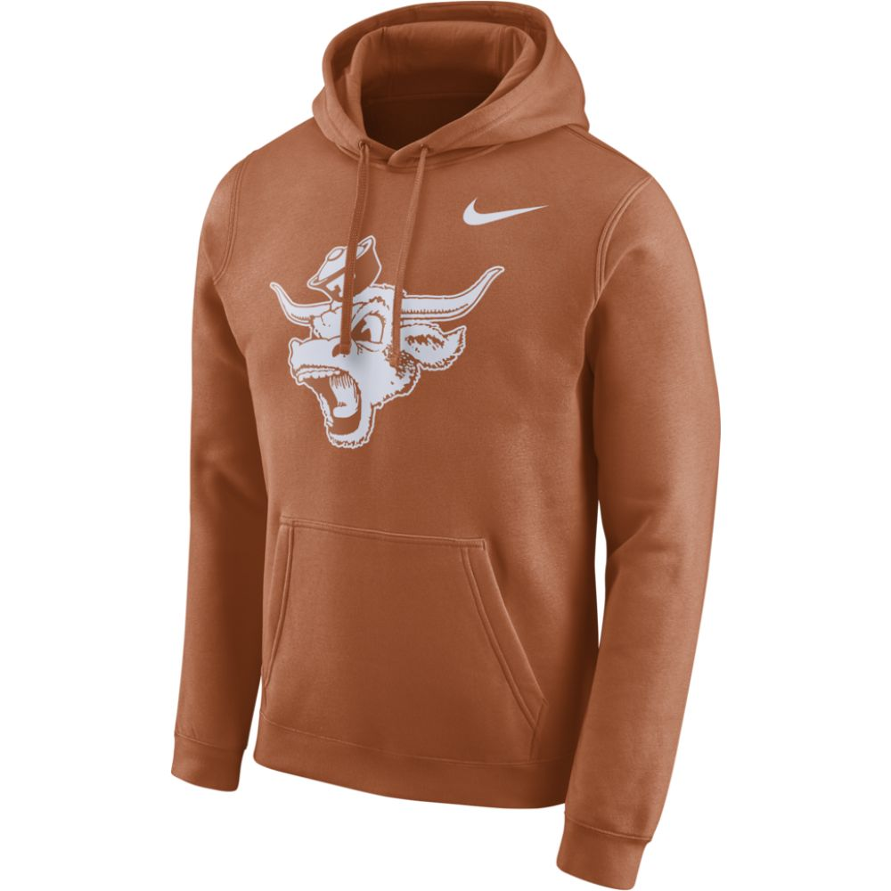 ナイキ Nike メンズ パーカー トップス【college club fleece vault logo po hoodie】Desert Orange