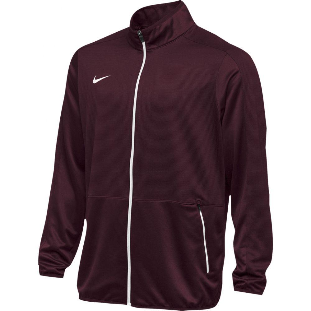 ナイキ Nike メンズ フィットネス・トレーニング ジャケット アウター【team rivalry jacket】Dark Maroon/White