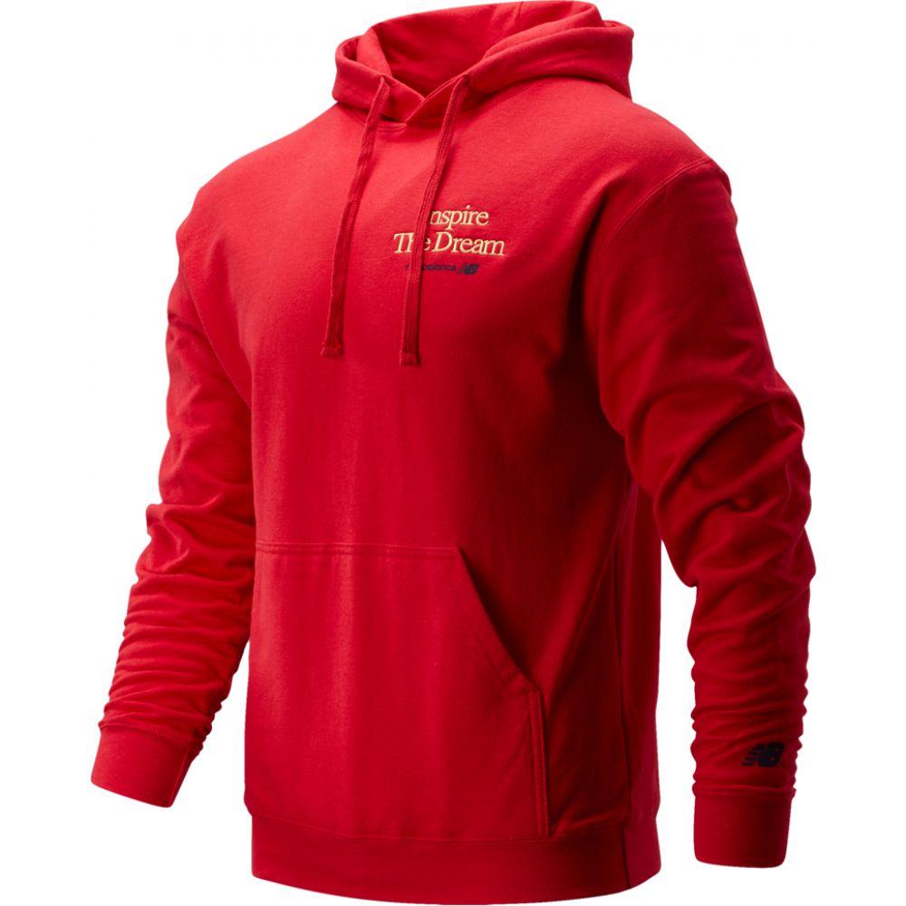 ニューバランス New Balance メンズ バスケットボール パーカー トップス【inspire the dream hoodie】Team Red BHM