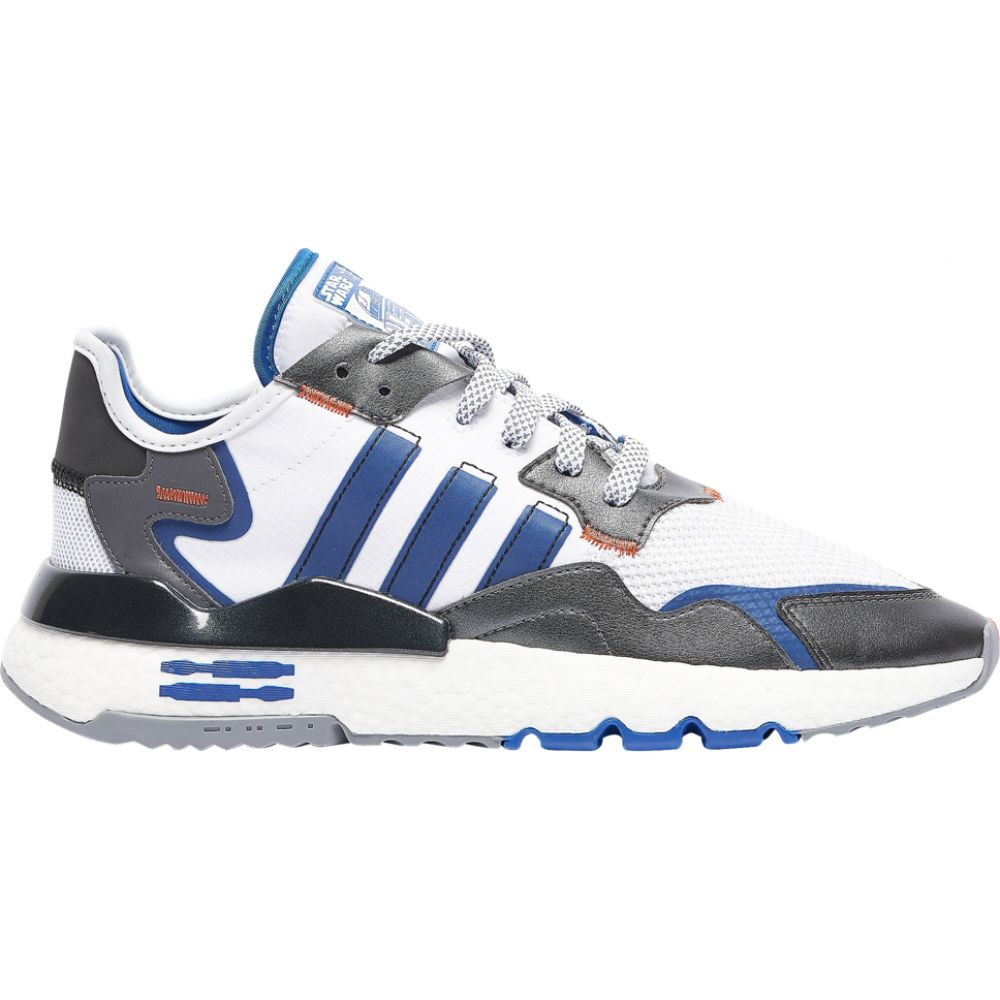 アディダス adidas Originals メンズ フィットネス・トレーニング ジョガーパンツ シューズ・靴【nite jogger】Metallic Silver/Blue/White/Black Star Wars R2D2 - avail to ship mid December