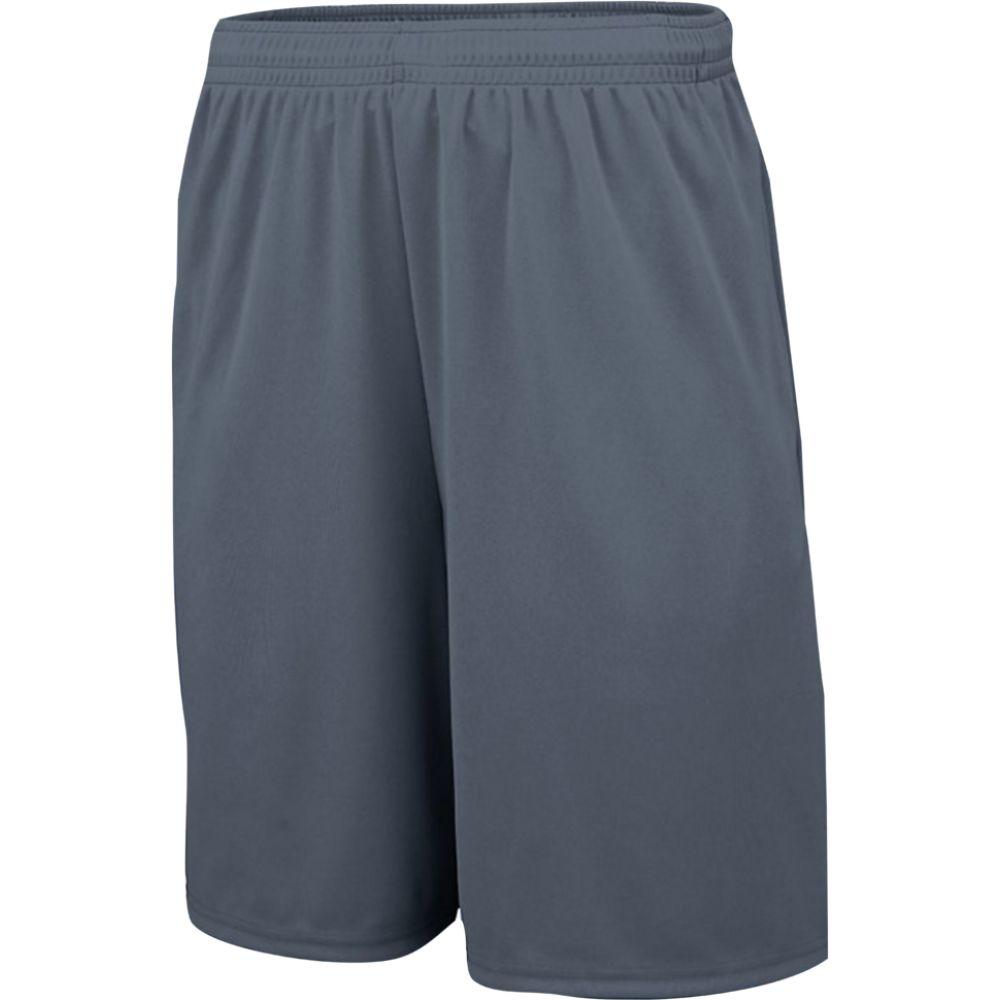 オーガスタスポーツウェア Augusta Sportswear メンズ フィットネス・トレーニング ショートパンツ ボトムス・パンツ【team 2 pocket training short】Graphite