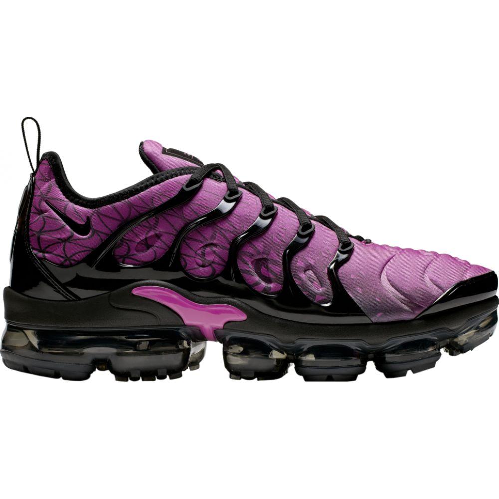 ナイキ Nike メンズ ランニング・ウォーキング シューズ・靴【air vapormax plus】Active Fuchsia/Black