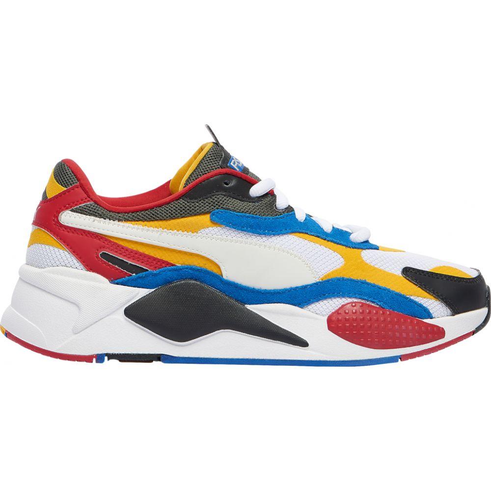 プーマ PUMA メンズ ランニング・ウォーキング シューズ・靴【rs-x3】White/Spectra Yellow Puzzle