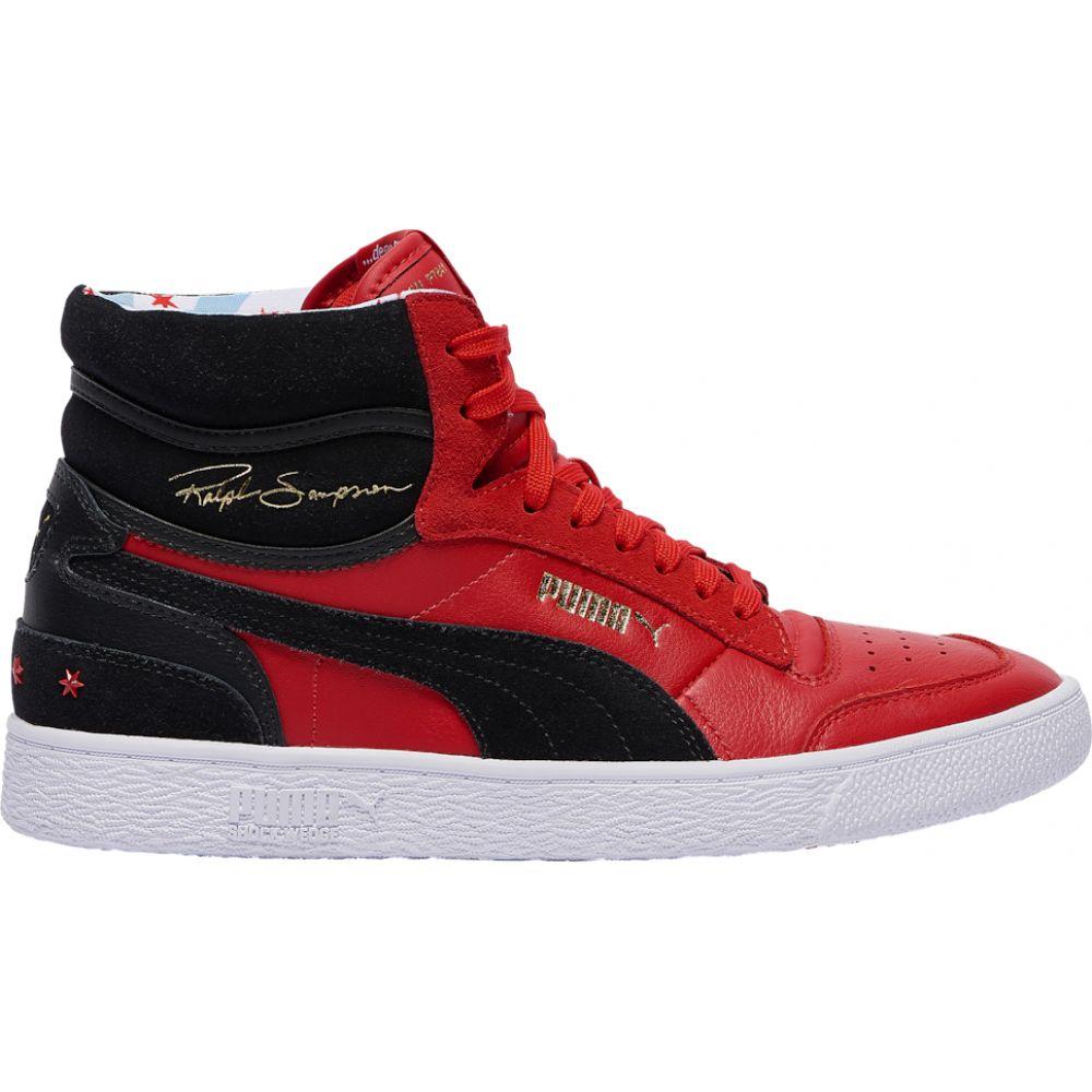 プーマ PUMA メンズ ランニング・ウォーキング シューズ・靴【ralph sampson mid】Hi Risk Red/Black/White