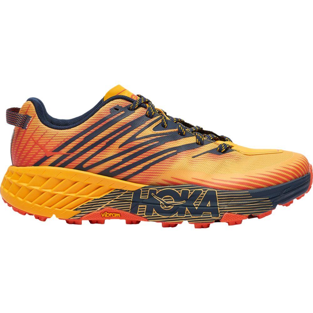 ホカ オネオネ HOKA ONE ONE メンズ ランニング・ウォーキング シューズ・靴【speedgoat 4】Gold Fusion/Black Iris