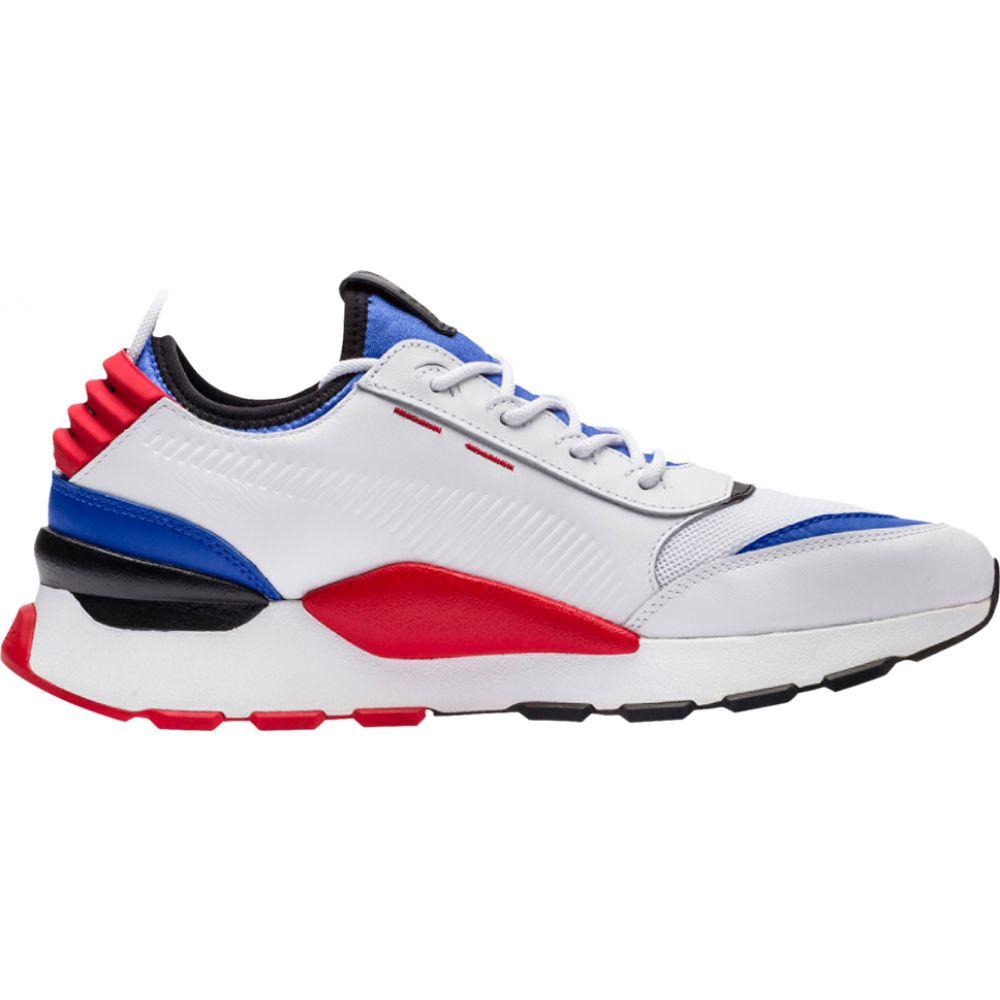 プーマ PUMA メンズ ランニング・ウォーキング シューズ・靴【rs-0 sound】White/Dazzling Blue/High Risk Red