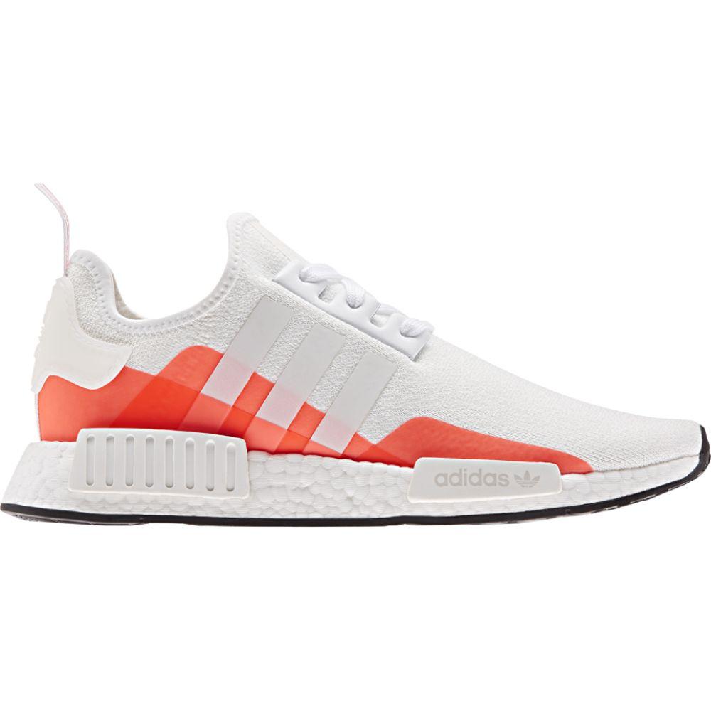 アディダス adidas Originals メンズ ランニング・ウォーキング シューズ・靴【nmd r1】White/White/Solar Red