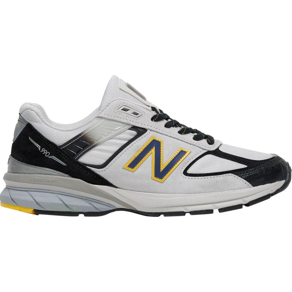ニューバランス New Balance メンズ ランニング・ウォーキング シューズ・靴【990v5】Silver/Black