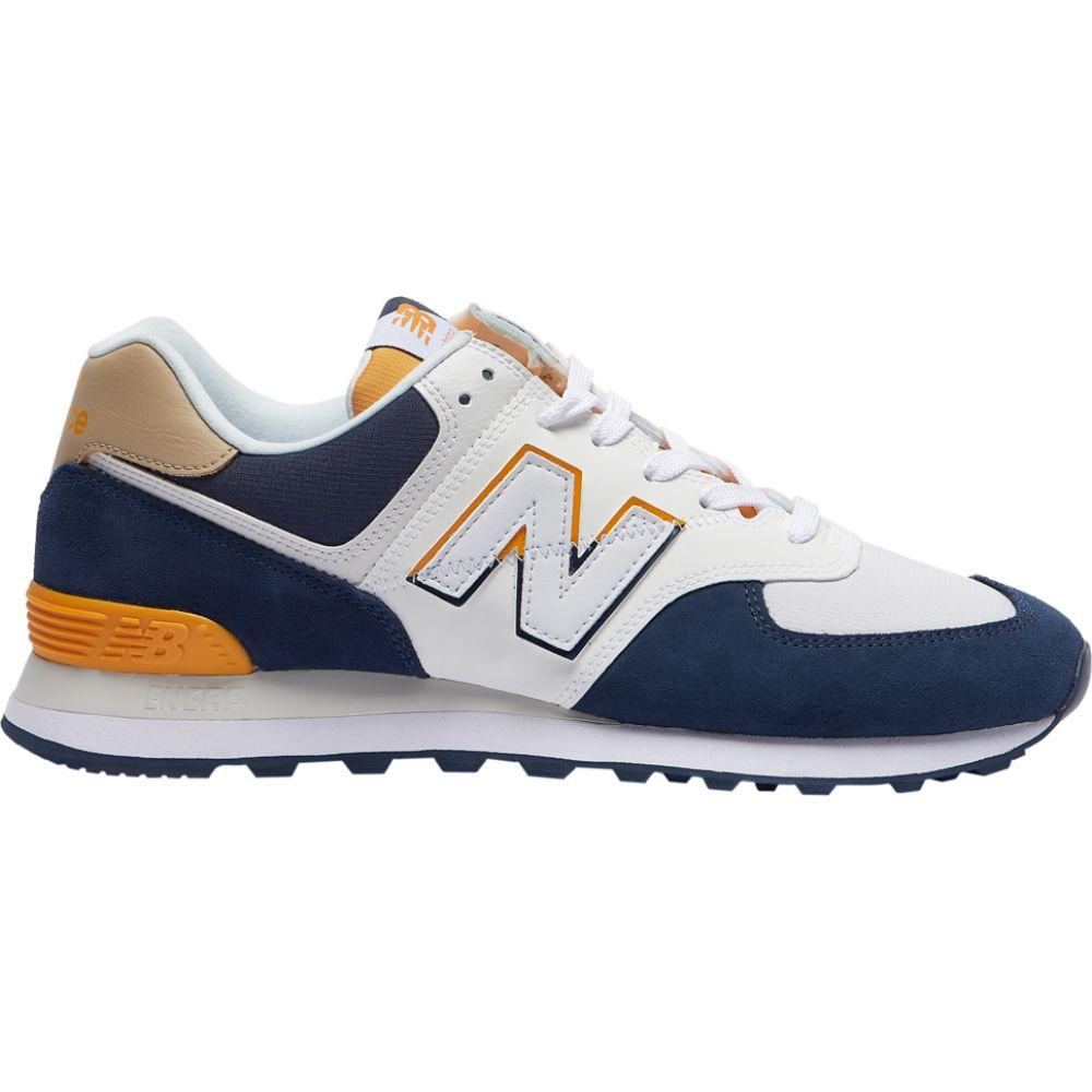 ニューバランス New Balance メンズ ランニング・ウォーキング シューズ・靴【574】Natural Indigo/Chromatic Yellow