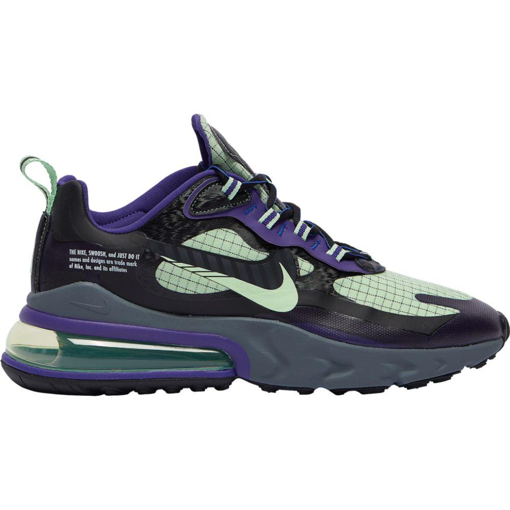 ナイキ Nike メンズ ランニング・ウォーキング エアマックス 270 シューズ・靴【air max 270 react】Black/Cool Grey/Court Purple/Vapor Green Future Swoosh