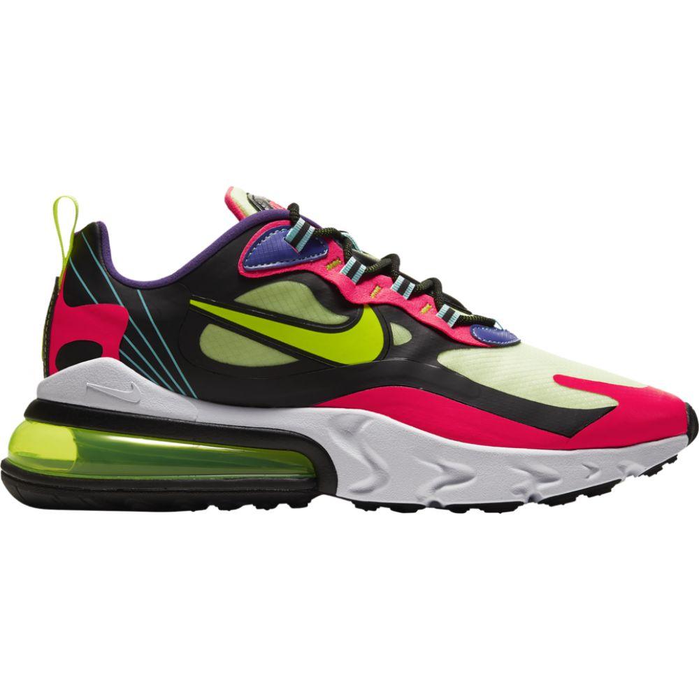 ナイキ Nike メンズ ランニング・ウォーキング エアマックス 270 シューズ・靴【air max 270 react】Black/Volt/Laser Crimson/Hyper Grape
