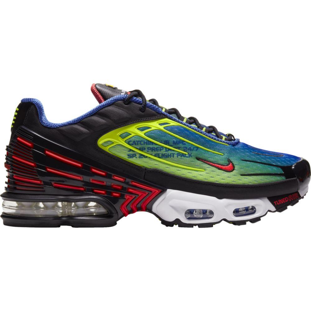 ナイキ Nike メンズ ランニング・ウォーキング エアマックス シューズ・靴【air max plus iii】Hyper Royal/Laser Crimson/Black